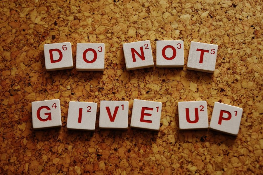 do-not-give-up motivation