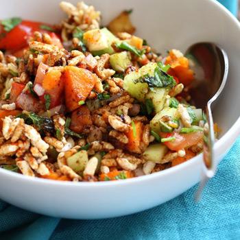 dinner-brown-rice