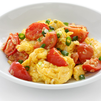 Tuscan scrambled eggs